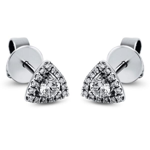 14 kt fehérarany steckeres 32 gyémánttal 2J955W4-1