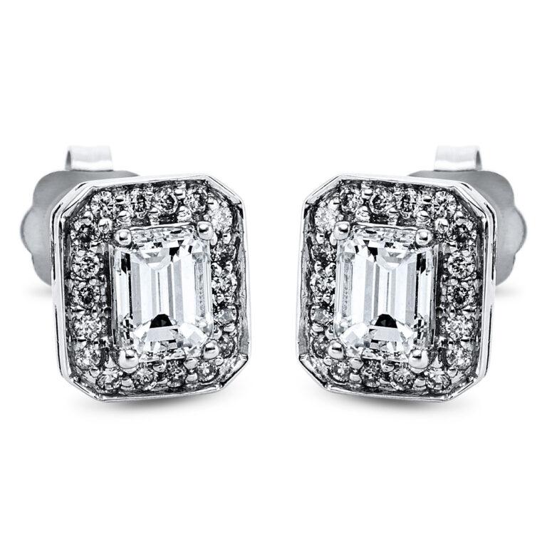 14 kt fehérarany steckeres 38 gyémánttal 2J932W4-1