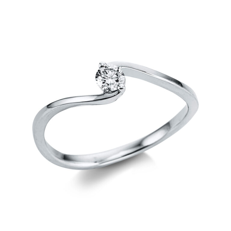 14 kt fehérarany szoliter 1 gyémánttal 1W781W453-1