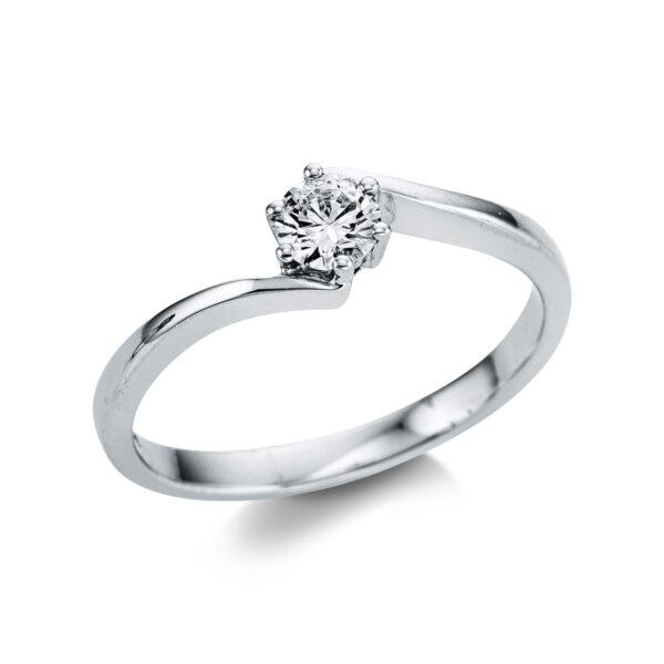 14 kt fehérarany szoliter 1 gyémánttal 1W801W454-1