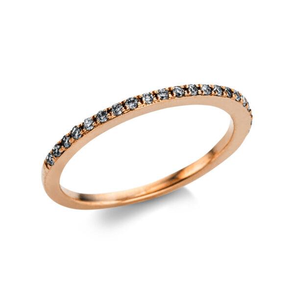 14 kt vörös arany félig köves eternity 22 gyémánttal 1W866R441-2
