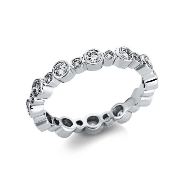18 kt fehérarany  24 gyémánttal 1W606W853-1