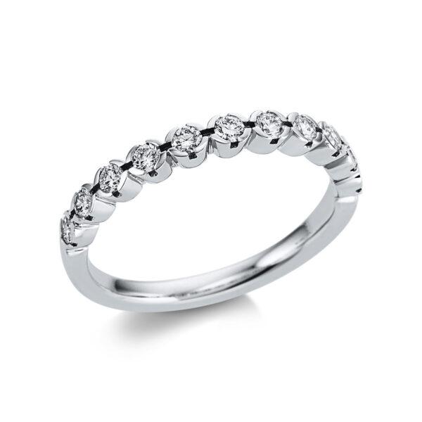 18 kt fehérarany félig köves eternity 11 gyémánttal 1W590W853-1