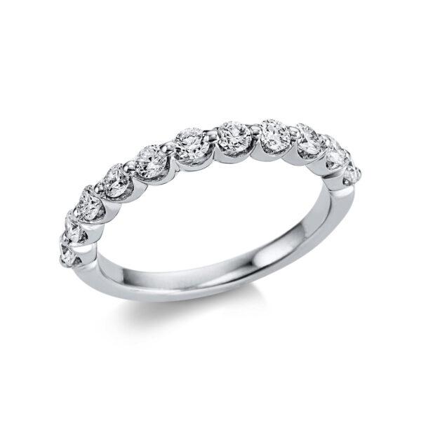 18 kt fehérarany félig köves eternity 11 gyémánttal 1W612W853-1