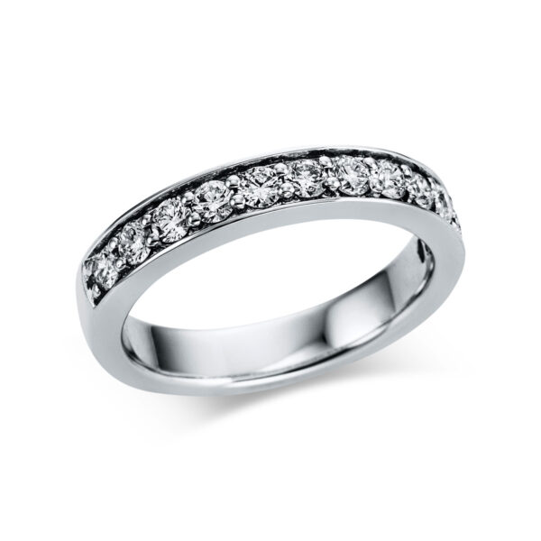 18 kt fehérarany félig köves eternity 12 gyémánttal 1W844W853-1