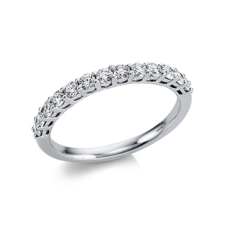 18 kt fehérarany félig köves eternity 13 gyémánttal 1W588W853-1