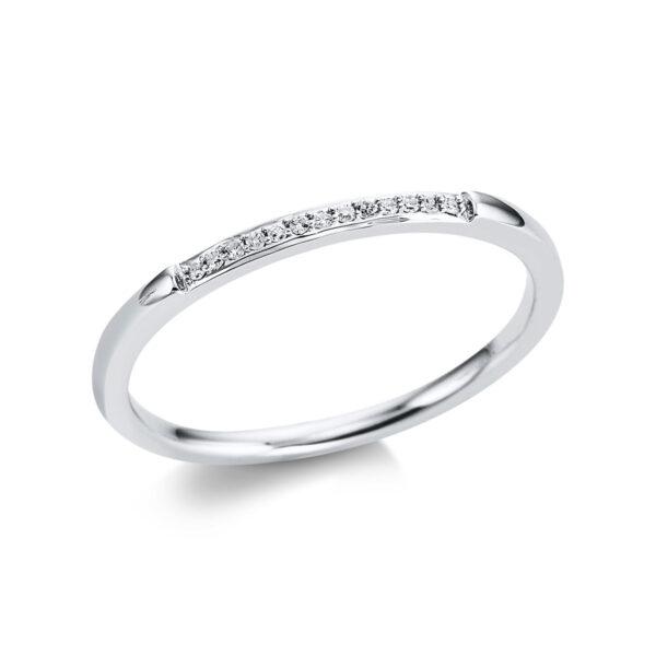 18 kt fehérarany félig köves eternity 13 gyémánttal 1W816W854-1