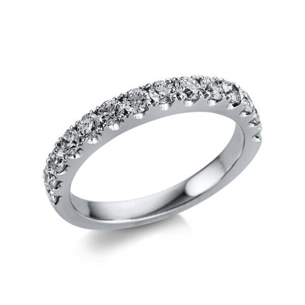 18 kt fehérarany félig köves eternity 14 gyémánttal 1W594W853-1