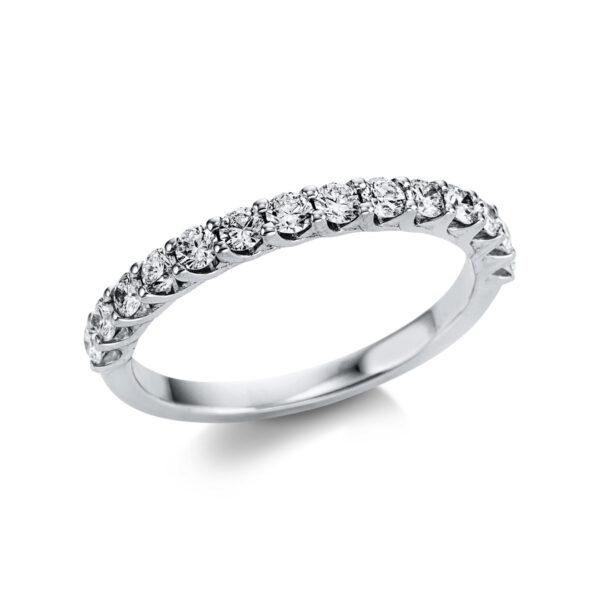 18 kt fehérarany félig köves eternity 14 gyémánttal 1W741W854-1