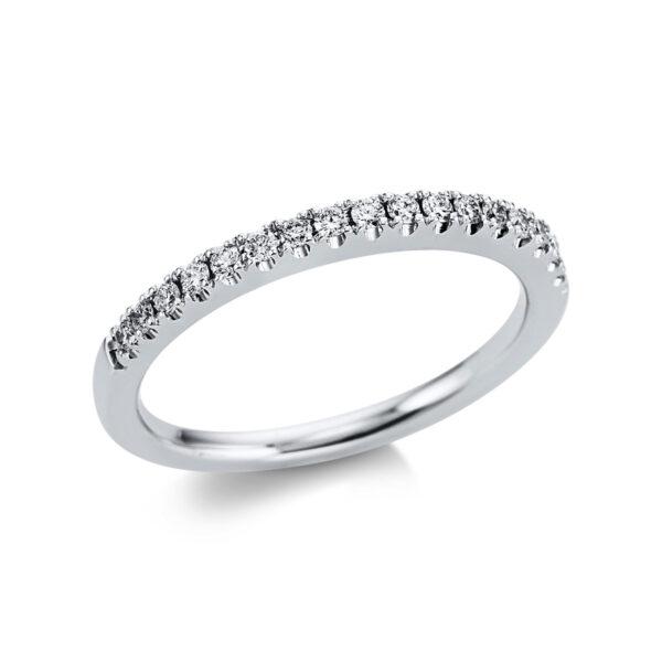 18 kt fehérarany félig köves eternity 17 gyémánttal 1W600W853-1