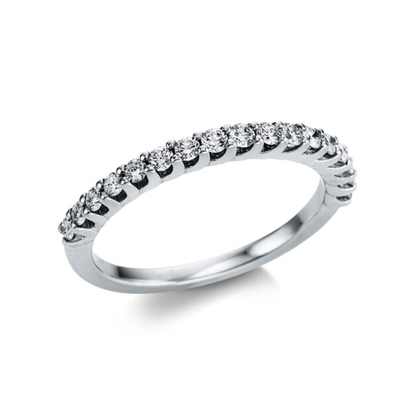 18 kt fehérarany félig köves eternity 17 gyémánttal 1W739W854-1