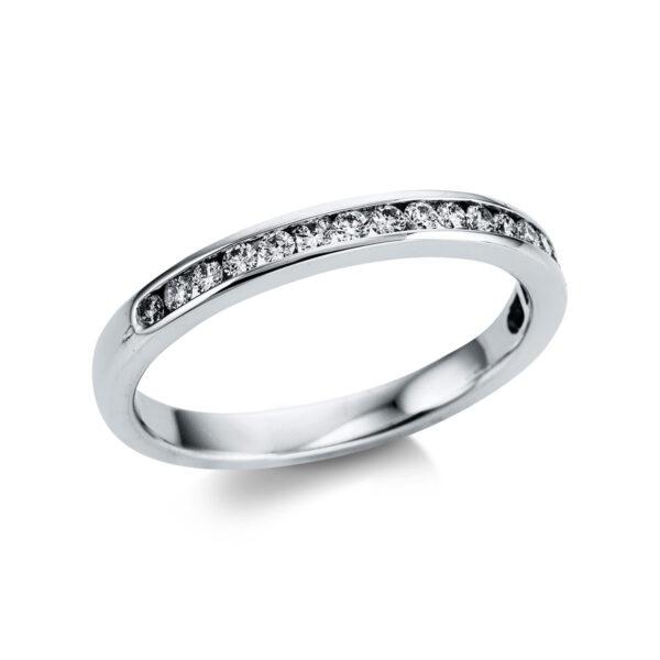 18 kt fehérarany félig köves eternity 19 gyémánttal 1W840W853-1