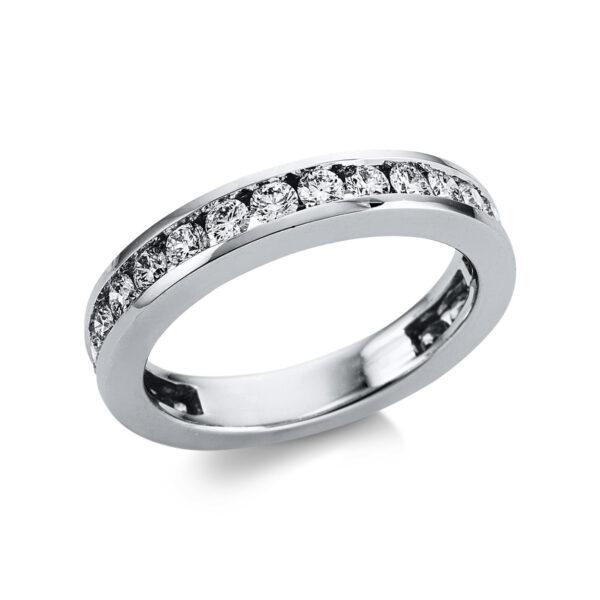 18 kt fehérarany félig köves eternity 22 gyémánttal 1W603W853-1
