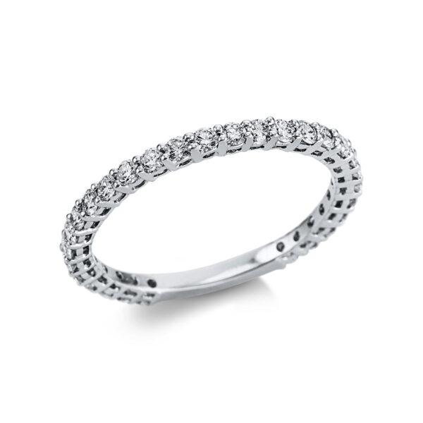 18 kt fehérarany félig köves eternity 29 gyémánttal 1W596W853-1