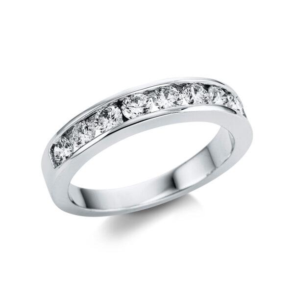 18 kt fehérarany félig köves eternity 9 gyémánttal 1V028W854-1