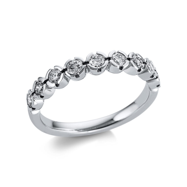 18 kt fehérarany félig köves eternity 9 gyémánttal 1W593W853-1
