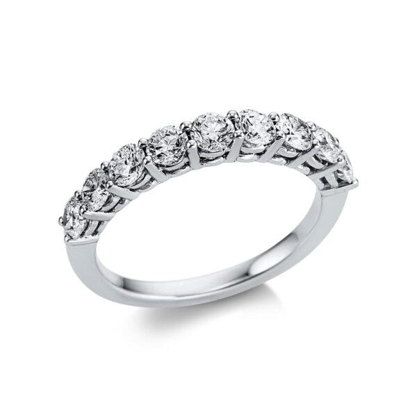 18 kt fehérarany félig köves eternity 9 gyémánttal 1W609W853-1