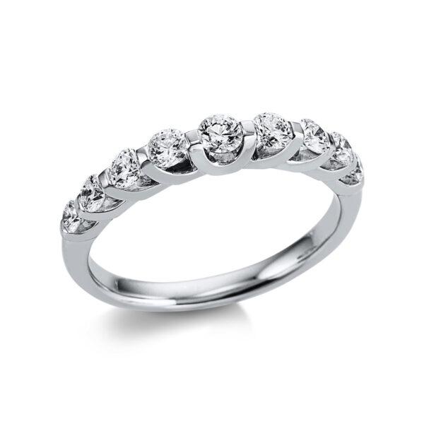 18 kt fehérarany félig köves eternity 9 gyémánttal 1W614W853-1