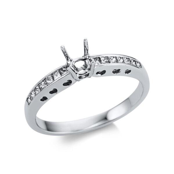 18 kt fehérarany foglalat 14 gyémánttal 1W644W853-1