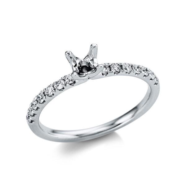 18 kt fehérarany foglalat 14 gyémánttal 1X071W853-1