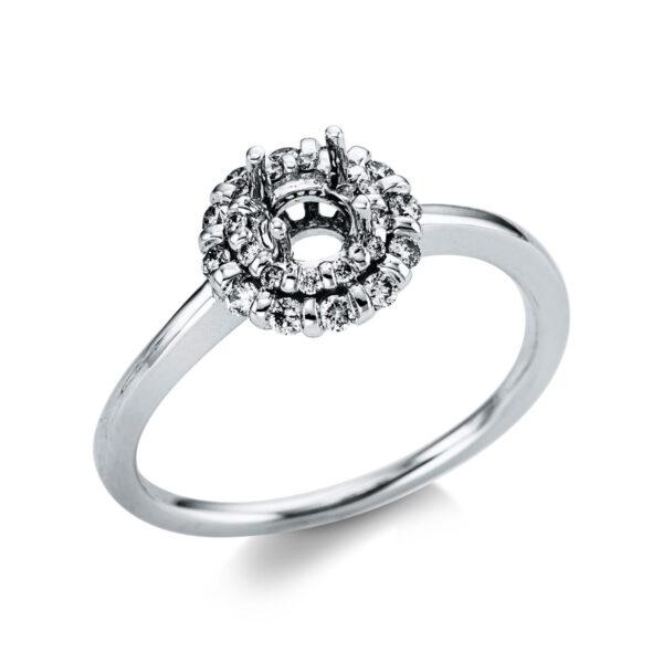 18 kt fehérarany foglalat 24 gyémánttal 1X084W853-1