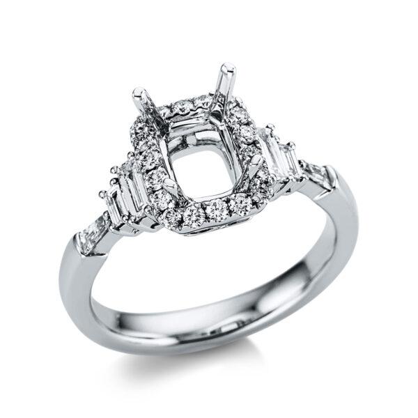 18 kt fehérarany foglalat 24 gyémánttal 1X093W853-1