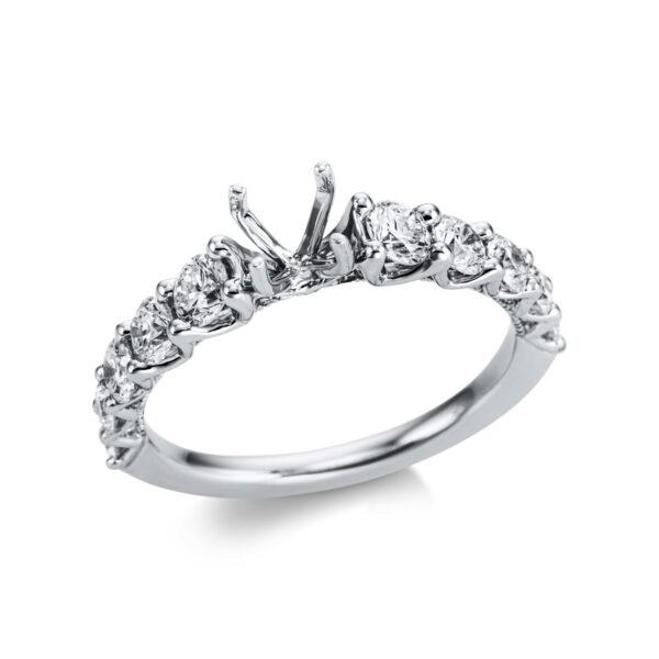 18 kt fehérarany foglalat 30 gyémánttal 1W826W854-1