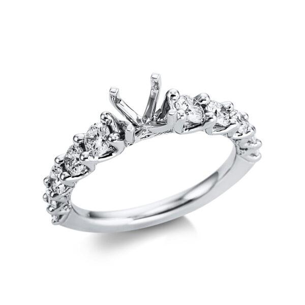 18 kt fehérarany foglalat 30 gyémánttal 1W827W854-1