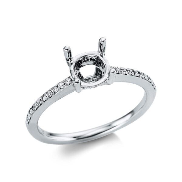 18 kt fehérarany foglalat 32 gyémánttal 1X082W853-1