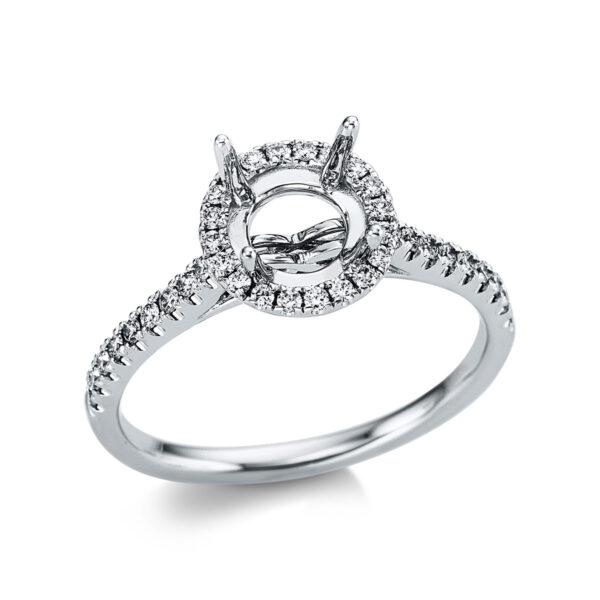 18 kt fehérarany foglalat 38 gyémánttal 1X090W853-1