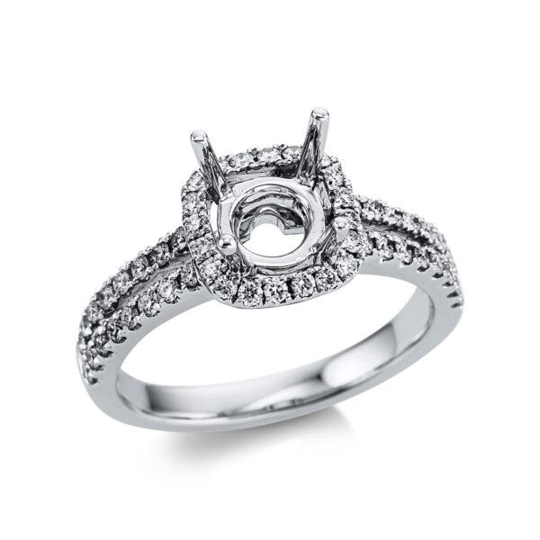 18 kt fehérarany foglalat 52 gyémánttal 1W647W853-1