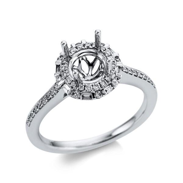 18 kt fehérarany foglalat 54 gyémánttal 1W640W853-1