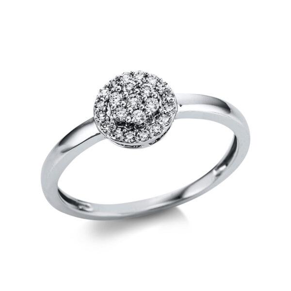 18 kt fehérarany illúzió 23 gyémánttal 1W784W854-1