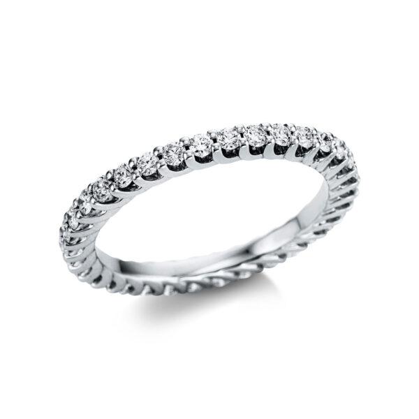 18 kt fehérarany körbe köves eternity 34 gyémánttal 1W740W854-1