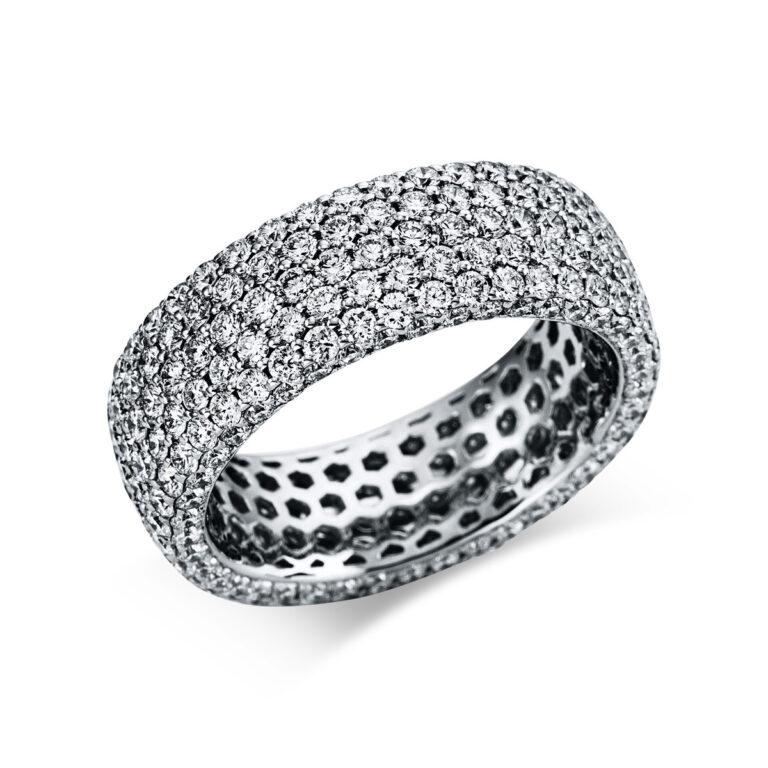 18 kt fehérarany pavé 294 gyémánttal 1X173W854-1