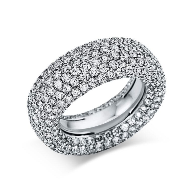 18 kt fehérarany pavé 386 gyémánttal 1X167W854-1