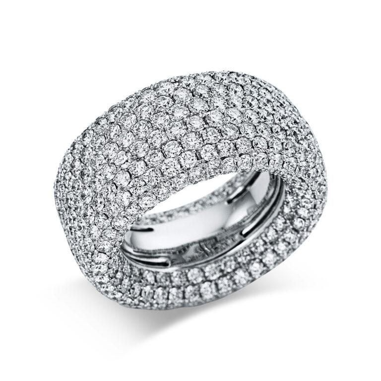 18 kt fehérarany pavé 472 gyémánttal 1X169W854-1