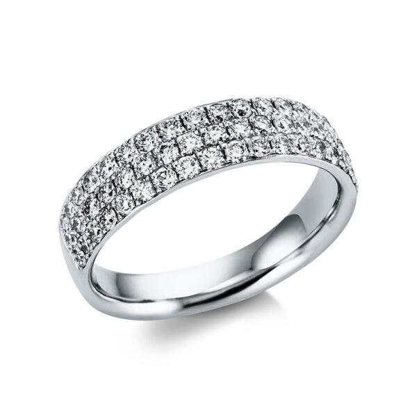 18 kt fehérarany pavé 59 gyémánttal 1H307W854-3