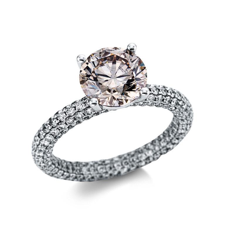 18 kt fehérarany szoliter oldalkövekkel 316 gyémánttal 1X281W854-1