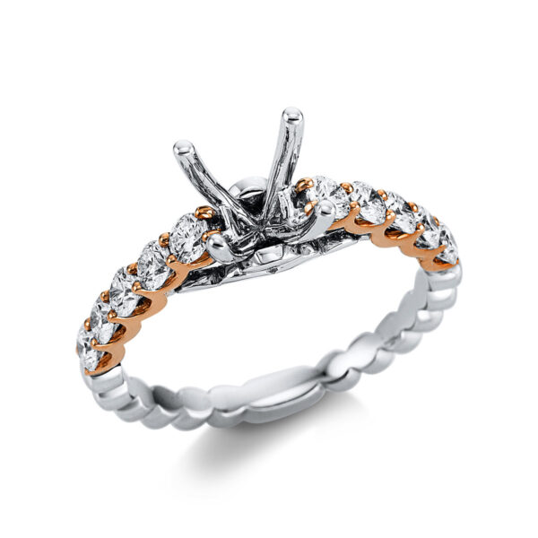 18 kt  foglalat 10 gyémánttal 1W578WR853-1