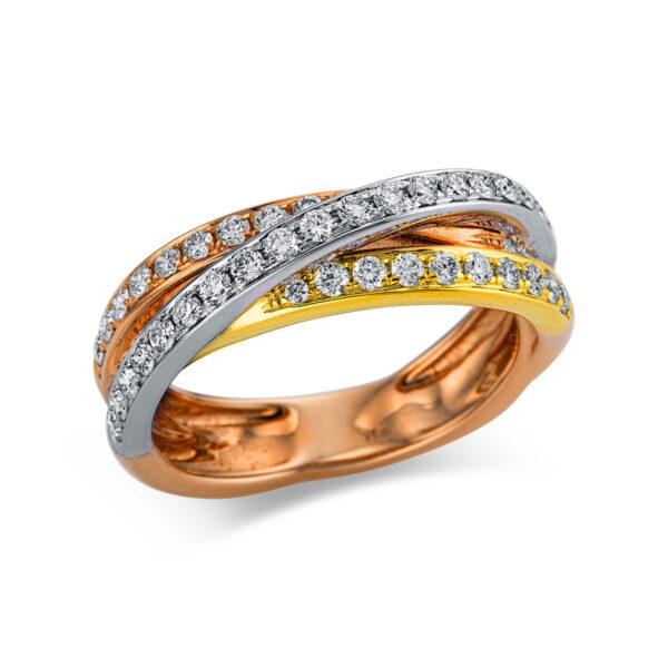 18 kt  pavé 45 gyémánttal 1W976T853-1