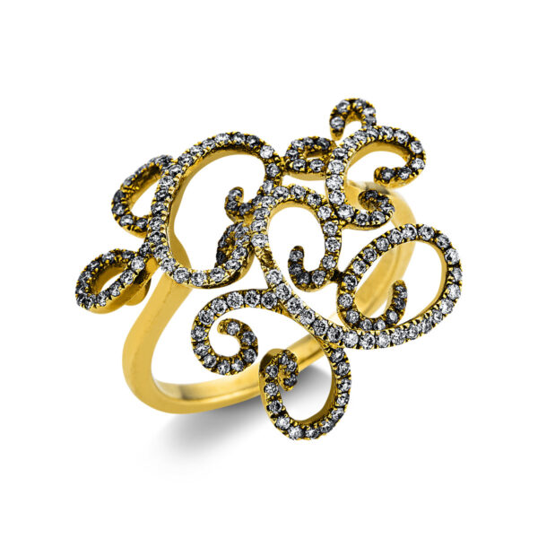 18 kt sárga arany  167 gyémánttal 1W651G853-1