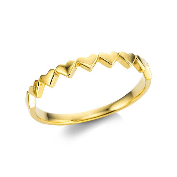 18 kt sárga arany karikagyűrű  1W750G854-1