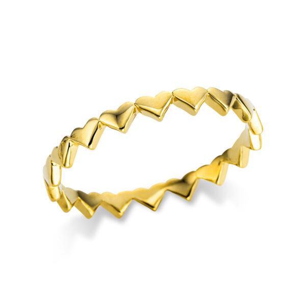 18 kt sárga arany karikagyűrű  1W751G854-1