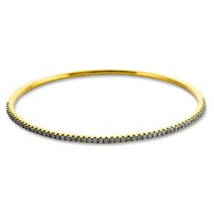 18 kt sárga arany karperec 60 gyémánttal 6A619G8-1