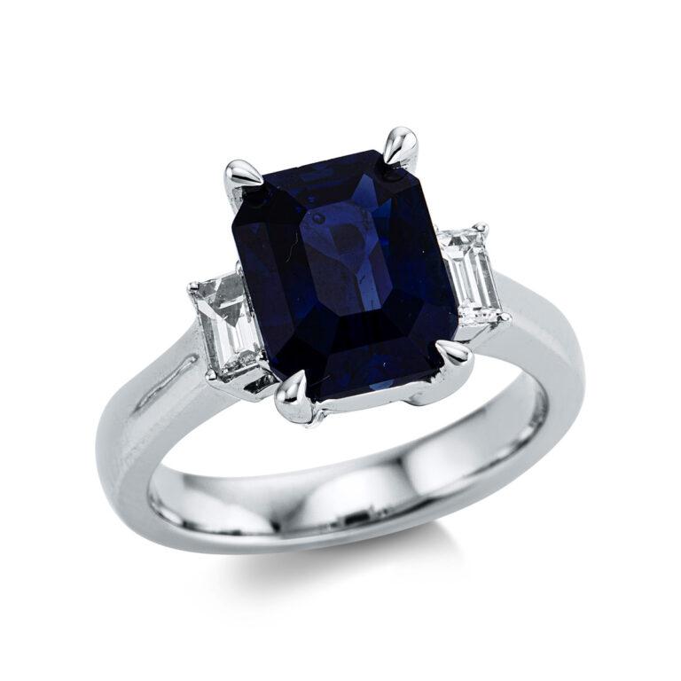 18 kt  több köves gyűrű 59 gyémánttal 1X051T854-1