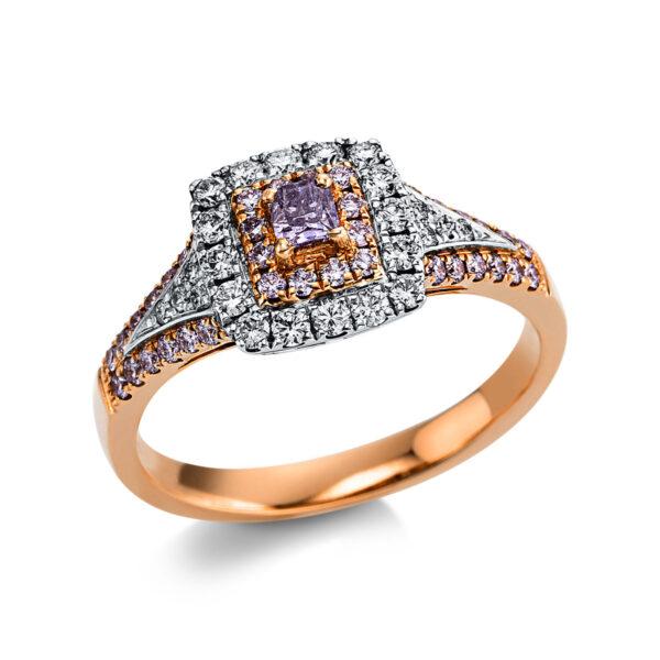 18 kt  több köves gyűrű 61 gyémánttal 1X033WR854-1