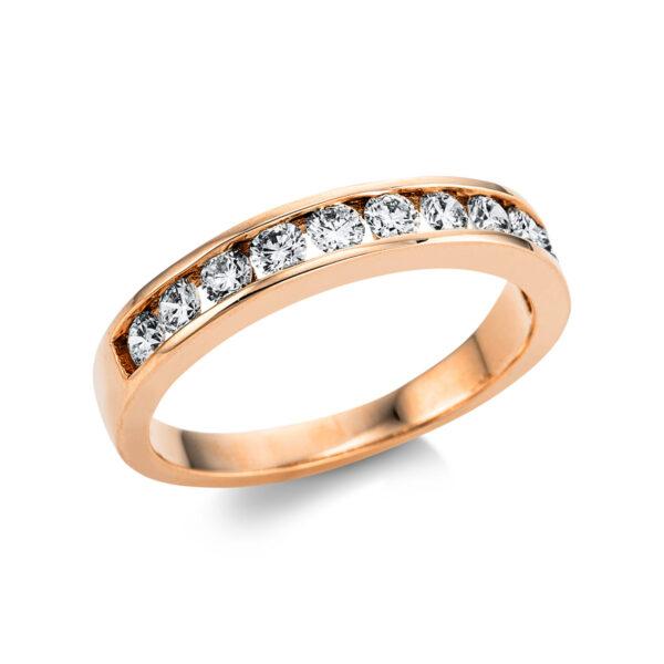 18 kt vörös arany félig köves eternity 11 gyémánttal 1W864R854-1