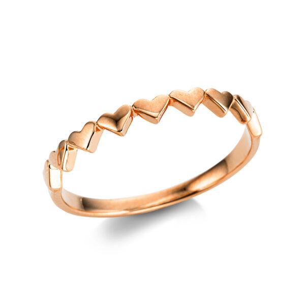 18 kt vörös arany karikagyűrű  1W750R854-1