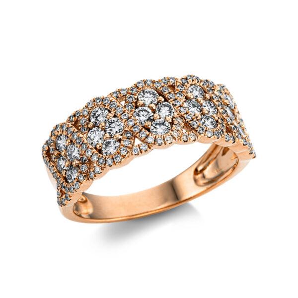 18 kt vörös arany pavé 148 gyémánttal 1W735R854-1